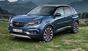 Opel Grand Land X : 2017 opel grandland x rendered upcoming small suv imagined photos 1 of 4 ~ Medecine-chirurgie-esthetiques.com Avis de Voitures