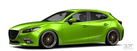 mazda 3 hatchback 2015 tuning