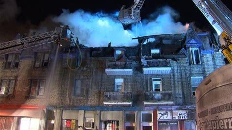 incendie majeur dans un bâtiment patrimonial du quartier incendie majeur dans hochelaga maisonneuve 250 pompiers