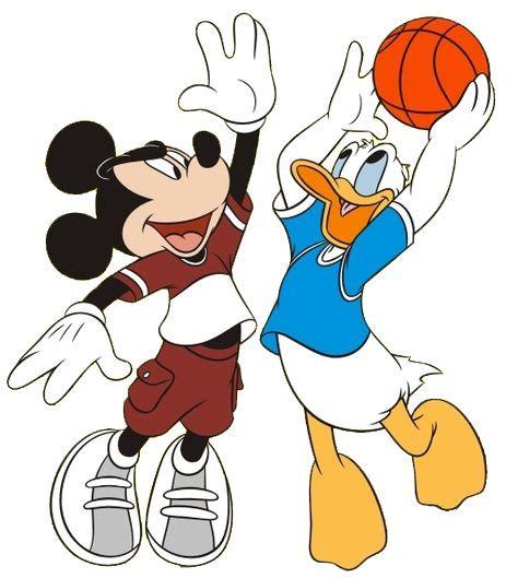 Disneyland Clipart Basketball#3230555