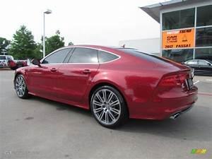 Garnet Red Pearl Effect 2012 Audi A7 3.0T quattro Premium ...