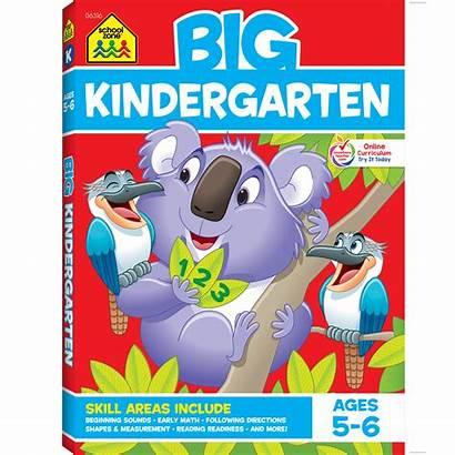 Workbook Kindergarten Zone Schoolzone Success