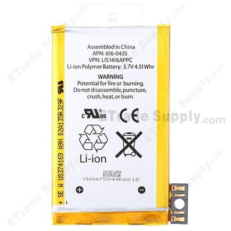 oem apple iphone gs battery etrade supply