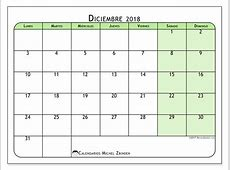 Calendarios diciembre 2018 LD Michel Zbinden es