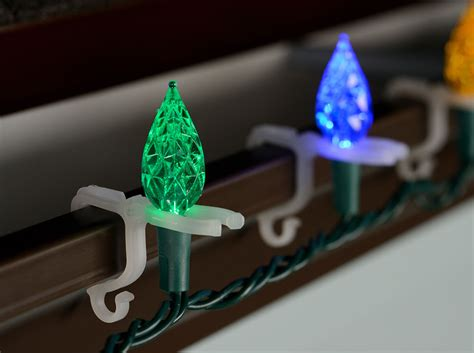 christmas lights for gutters all purpose string light holders 100 pack string lights gutter hooks