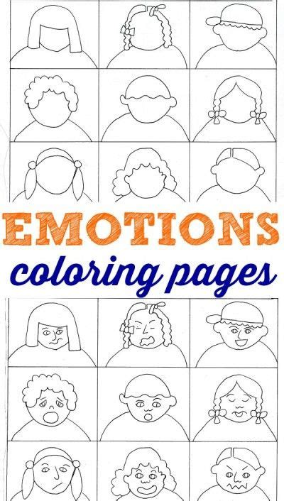 emotions coloring pages help with feelings a well 456 | 1ca05e26193d32f10a97ec530cae538b