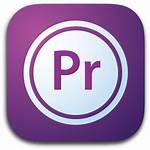 Icon Pro Premiere Adobe Icons Pr Suite