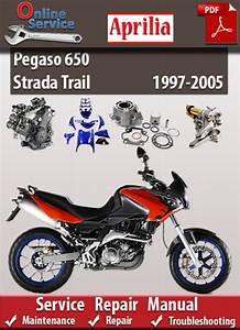 Factory Pdf Manuals  Aprilia Pegaso 650 Strada Trail 1997