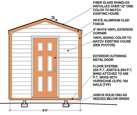 Simple 8x8 Deck Plans by 8 215 8 Garden Shed Building Plans Blueprints For Simple