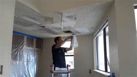 Scraping Popcorn Ceilings by How To Scrape Popcorn Ceilings Quickly
