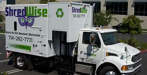 small to large corporations shred wise inc With document shredding orange county