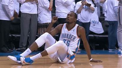 Kevin Durant Throws Throw Bad Westbrook Russell