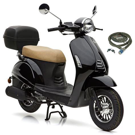 motors grace motors motorroller 187 grace 171 49 ccm 45 km h 4 set mit topcase inkl topcase 49
