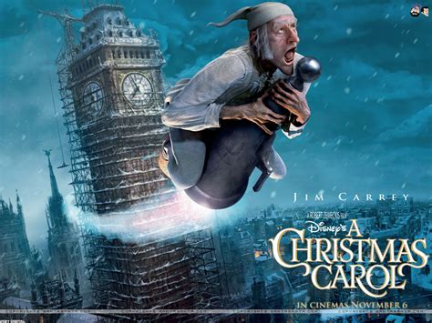 A Christmas Carol Movie Wallpapers Wallpapersin4knet