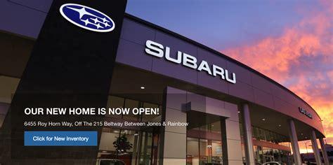 Dealership Las Vegas by Subaru Las Vegas Opens New Dealership And Color