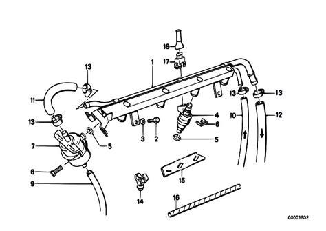 Bmw E30 Part Diagram by Original Parts For E30 M3 S14 Cabrio Fuel Preparation