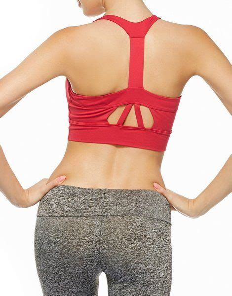 We carry a variety of wholesale bras for. Wholesale Padded Cutout Sports Racerback Bra From Gym Clothes