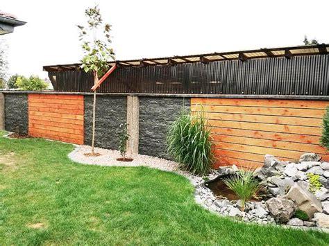 Verkleidung Mauer Garten by Mauer Verkleiden Home Ideen