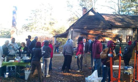 Historic Johns Homestead Gets Some Attention Tucker Ga