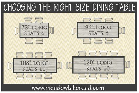 choosing the right size dining table oval dining tables