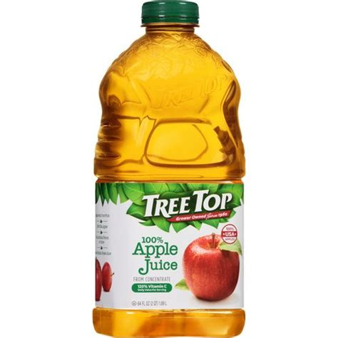 Tree Top 100% Apple Juice 64 fl oz - Walmart.com - Walmart.com