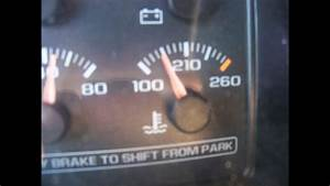 96-98 Chevy Pickup Temperature Gauge Reads Low