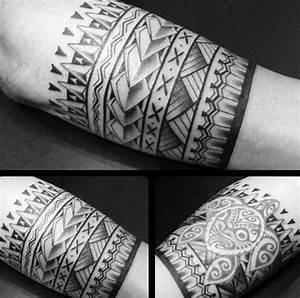 Top 53 Tribal Armband Tattoo Ideas