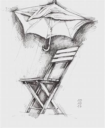 Abstrakcyjny Kantor Tadeusz Sculpture Chair Drawing