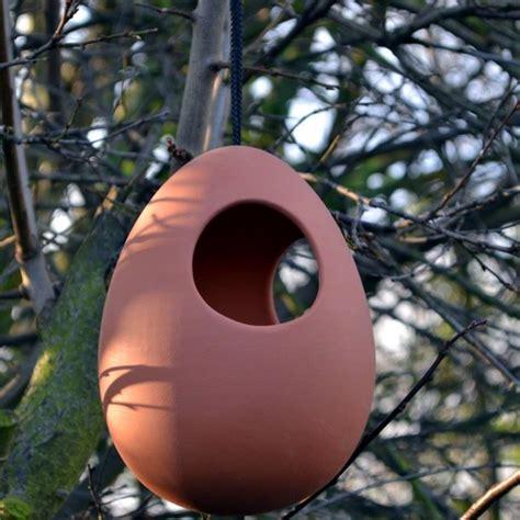 hanging bird feeder terracottaukcom hand  uk