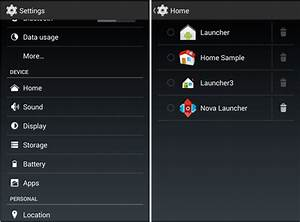 How to change default launcher in Android 4.4 KitKat