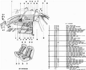 Opel Gt Interior Diagrams