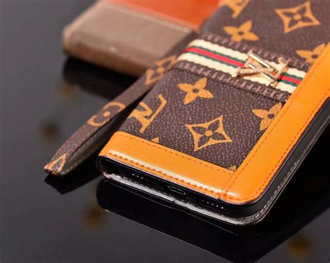 louis vuitton leather wallet phone case iphone pro