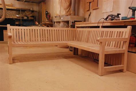 corner bench design  woodworking