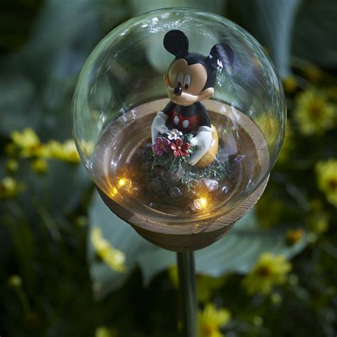 disney mickey mouse solar garden stake limited