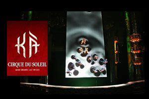 KÀ by Cirque du Soleil at MGM   Cirque du soleil, Mgm grand las vegas, Las vegas shows