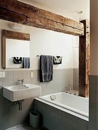 nice wood bathroom sinks Rustic Bathroom Ideas with Calm Nuance - Traba Homes