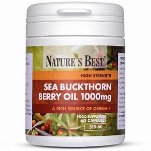 Sea Buckthorn Berry Oil Capsules