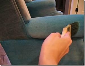 Peinture Pour Tissu Canapé : votre fauteuil pr f r en tissu est tach repeignez le ~ Premium-room.com Idées de Décoration