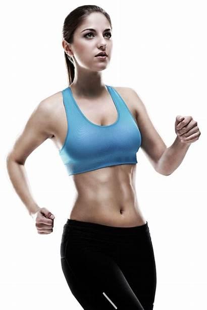 Woman Fitness Running Sport Jogging Transparent 1dsp