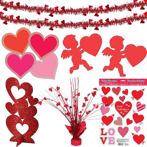 Valentine's Day Cupid & Hearts Decorating Kit | Party City
