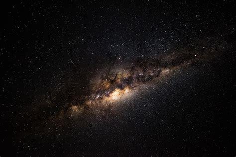 Wallpaper Milky Way Starry Sky Galaxy Widescreen