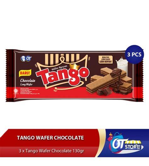 jual wafer tango long gr coklat isi pcs harga murah