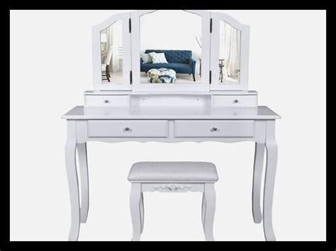 siege hello coiffeuse avec miroir lumineux 4845 miroir idées