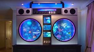Chicago Bulls Player Gets Boom Box Aquarium Installed in