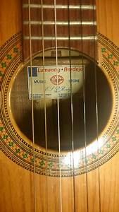 Lumanog Berdejo Classical Acoustic Guitar Exotic Rosewood