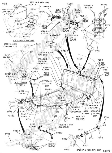 1975 F100 302 Engine Diagram by Ford Truck Part Numbers In Cab Fuel Tank Related