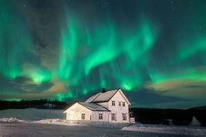 Solar Northern Lights Aurora Borealis In Norway The Best Aurora Borealis