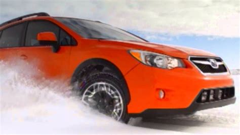 Subaru Crosstrek Snow by 2013 Subaru Crosstrek 2 0i Premium On Snow Automototv
