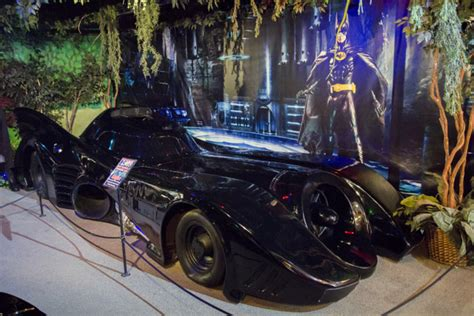 Original Batmobile Autographed By batmobile collection batmobile collection volo auto museum