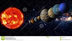 Solar System Stock Illustration - Image: 43822175